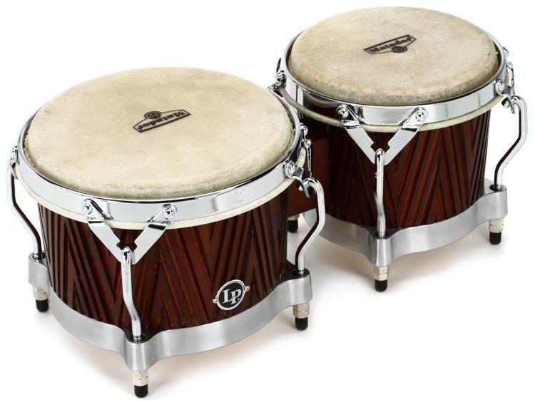 Latin Percussion Matador Wood Bongos