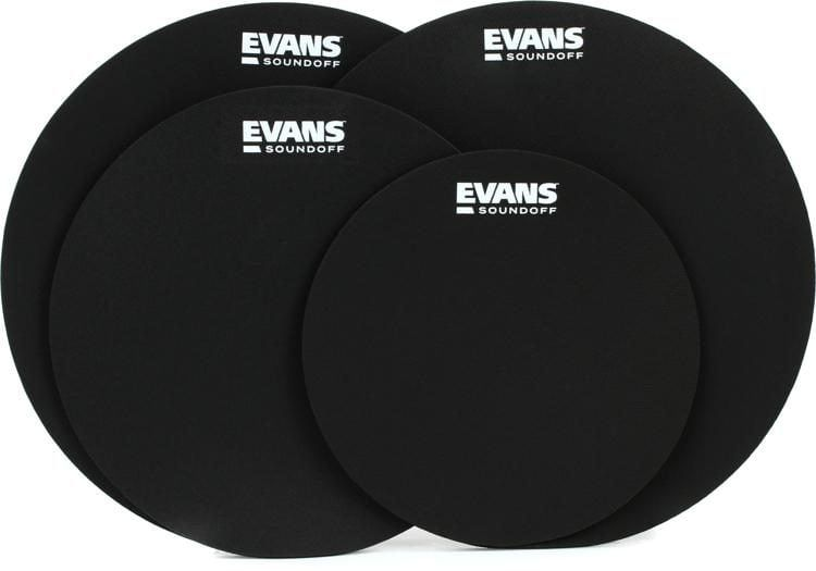 Evans SoundOff Drum Mutes Standard 4 Pack