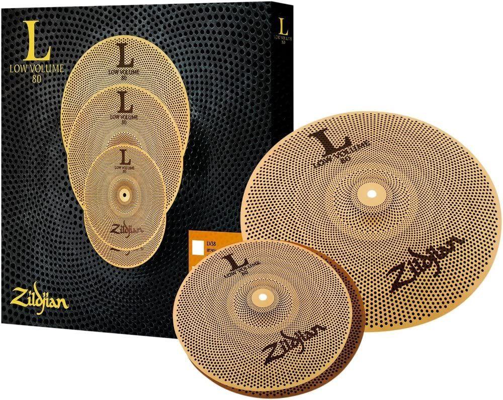 Zildjian L80 Low Volume Cymbal Set 13/18