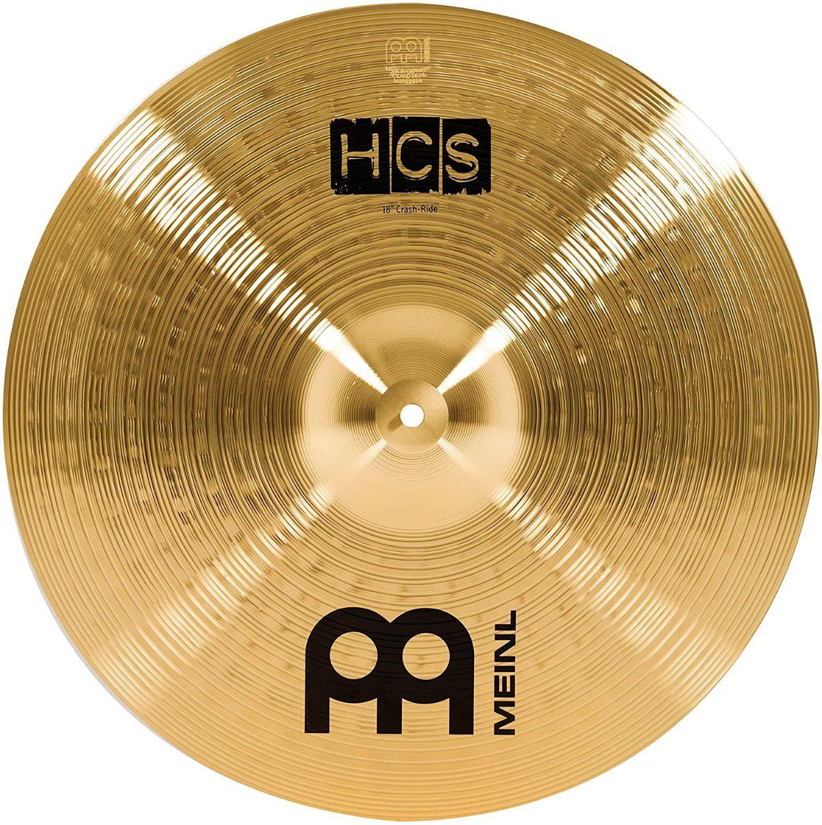 "Meinl HCS 18"" Crash Ride Cymbal"