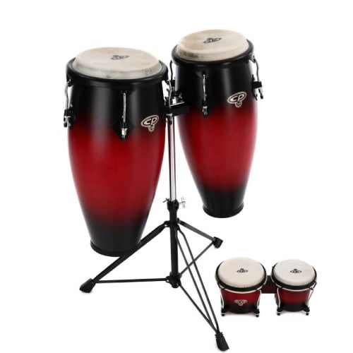 Cosmic Percussion Conga Set with Free Bongos