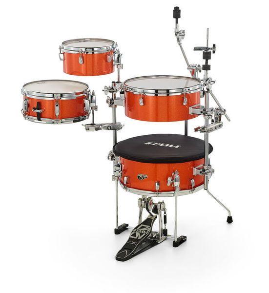 Tama Cocktail Jam 4-Piece Portable Drum Kit With Hardware & Bags