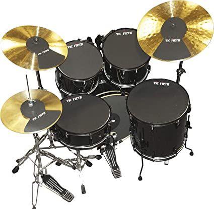 Vic Firth Drum Mutes Practice Drum Pad Set
