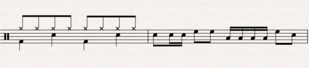 beginner drum fill 7