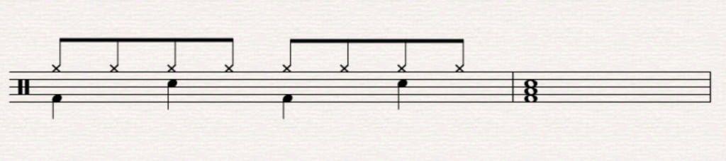 beginner drum fill 8