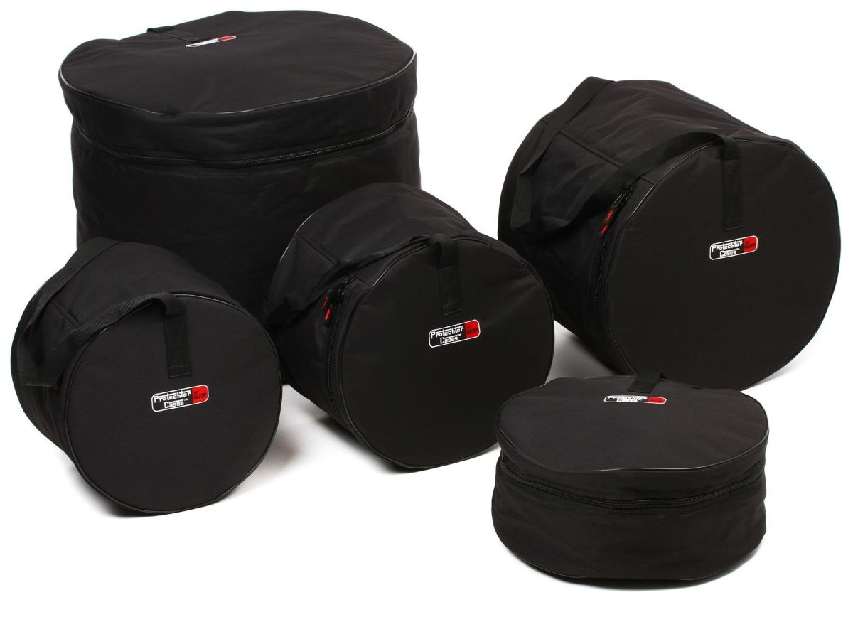 Gator Cases 5 Piece Drum Bag Set