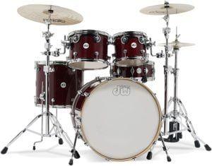dw design series drum set