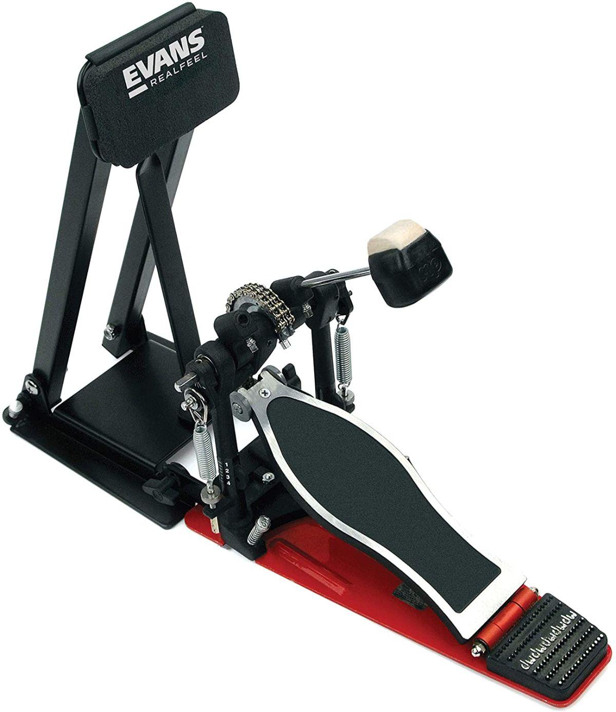Evans Folding Bass Pedal Practice Pad