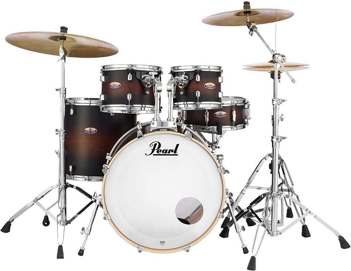 pearl decade maple drum set
