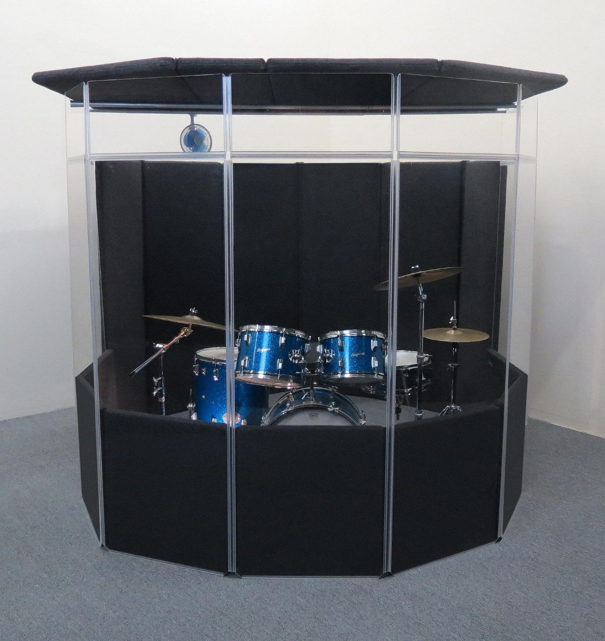 ClearSonic IPA IsoPac A Portable Isolation Booth with Lid