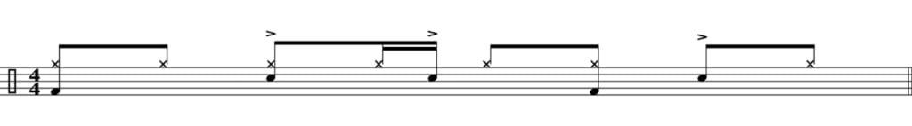 Funk drum beat 2