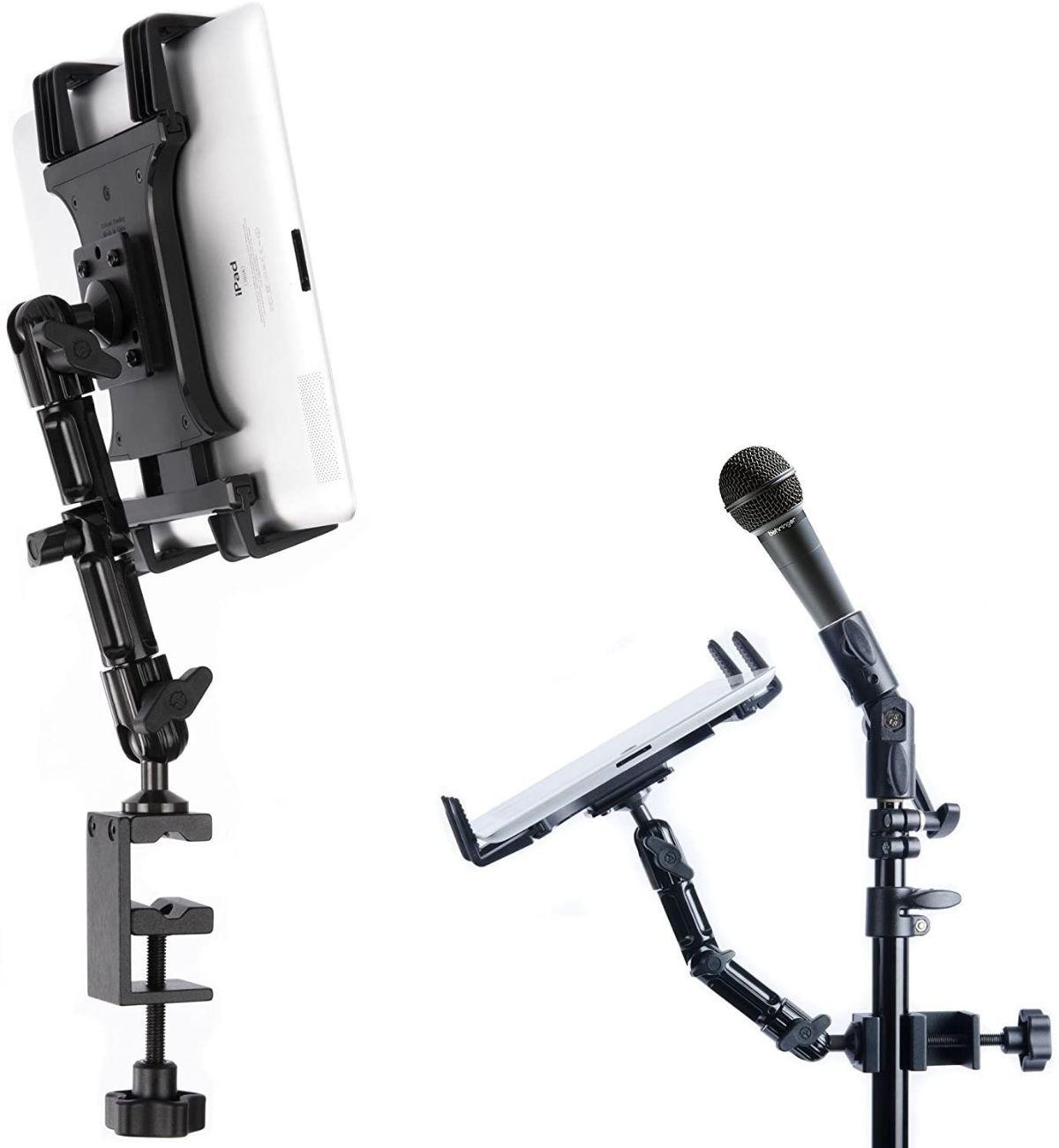 Tackform tablet holder