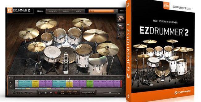 Toontrack EZdrummer 2 Virtual Drum Software
