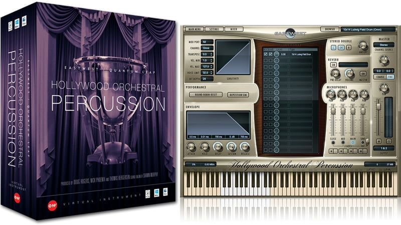 EastWest Hollywood Orchestral Percussion - Gold Edition