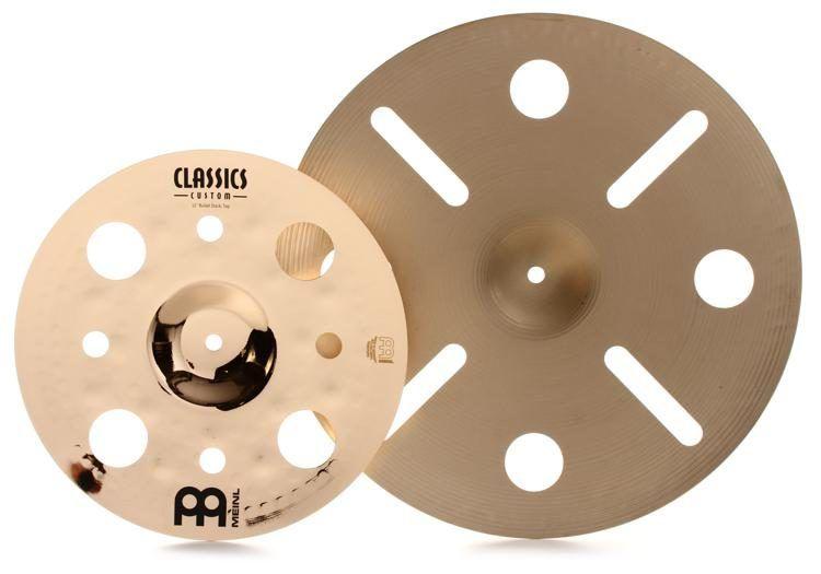 Meinl Luke Holland Bullet Cymbal Stack