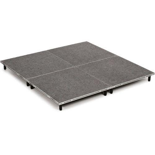"""IntelliStage ISDRUM6X6 6'x6' Drum Platform - 6"""" Tall"""