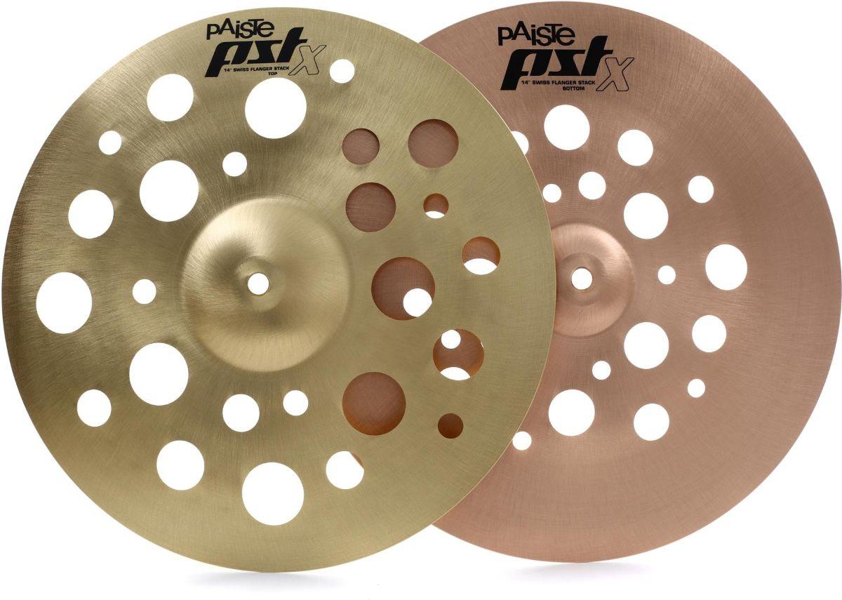 Paiste PST X Swiss Flanger Stack Cymbal