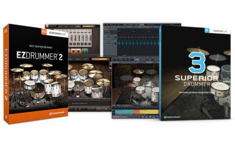 Ezdrummer vs Superior Drummer