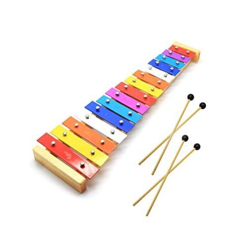 CeleMoon Natural Wooden Toddler Xylophone