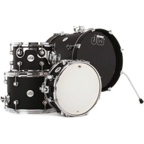 DW Design Series Mini-Pro 4-Piece Drum Set