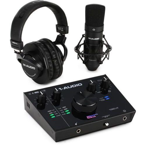 M-Audio AIR 1924 Vocal Studio Pro Complete Vocal Production Package
