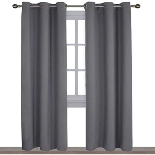 NICETOWN 3 Pass Microfiber Noise Reducing Curtains