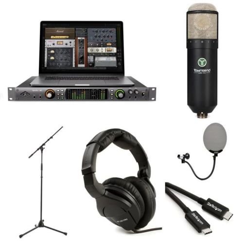Universal Audio Apollo x6 and Townsend Labs Sphere L22 Microphone Modeling System