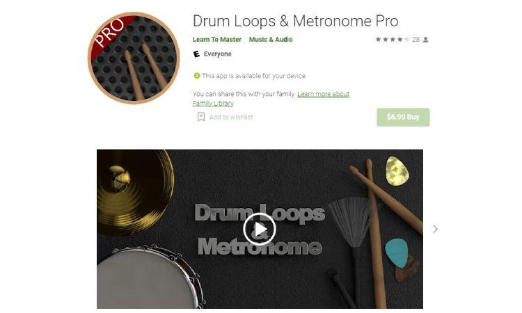 Drum Loops - 10 Best Drumming Apps - Free and Paid