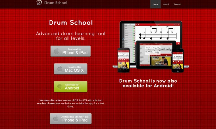 Drum School - 10 Best Drumming Apps - Free and Paid