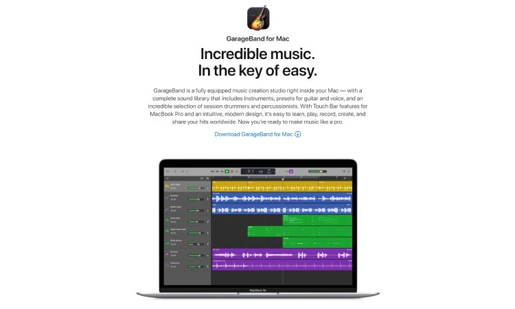 Garage Band - 10 Best Drumming Apps - Free and Paid